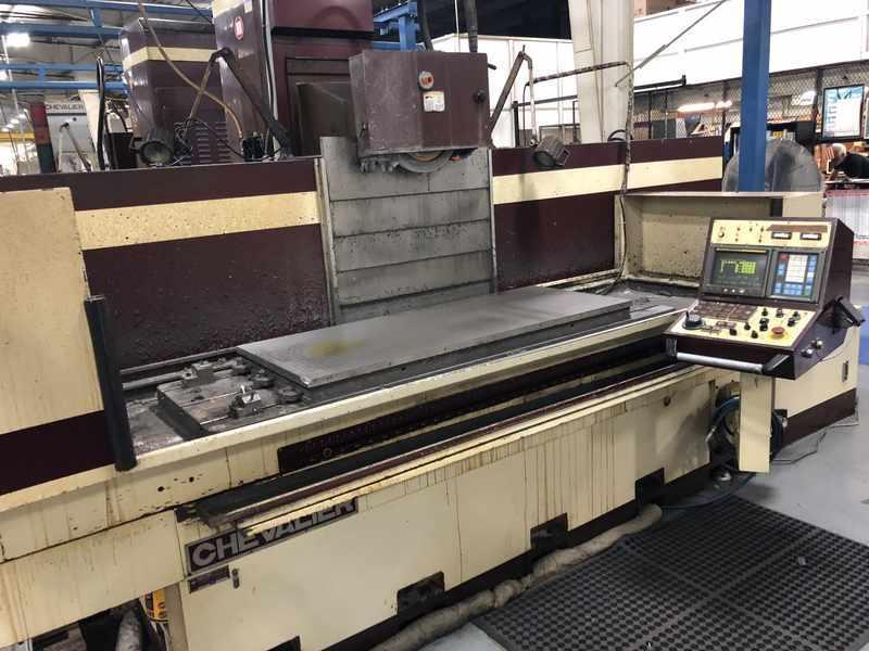 "24"" X 60""  FALCON CHEVALIER MODEL #FSG2460 CNC HORIZONTAL SURFACE GRINDER: STOCK 13192"