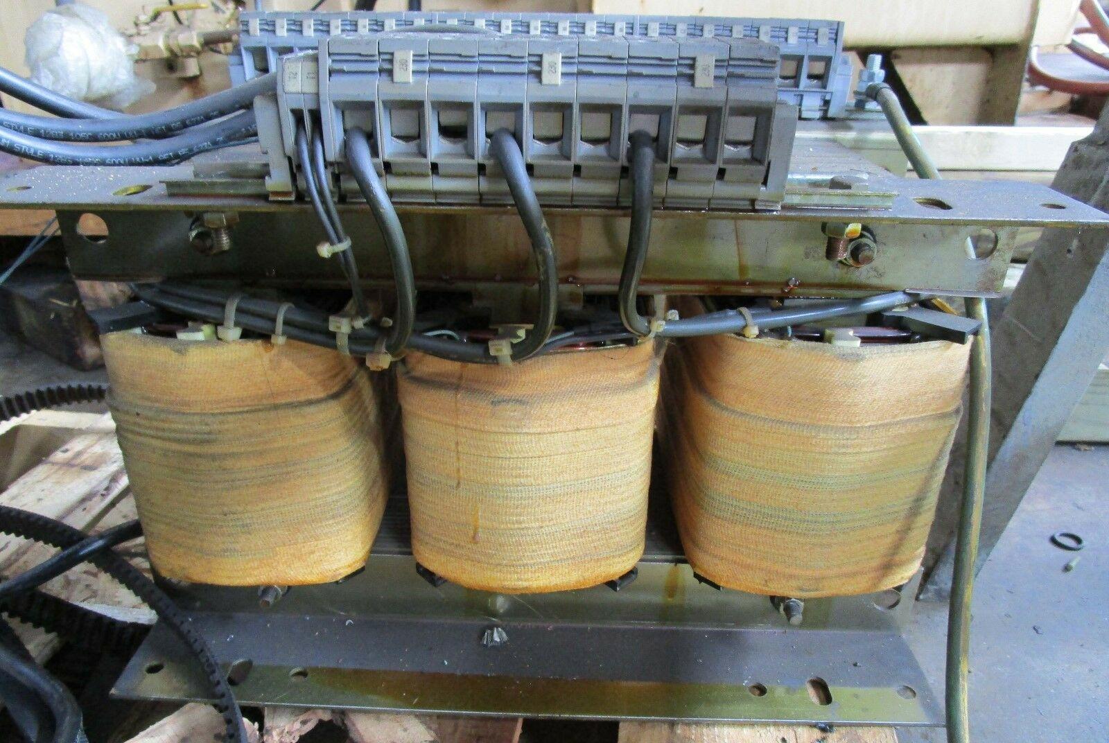 30 KVA Multi Tap Transformer, Input 208-220-240-380-415-460 Output 240V L-L