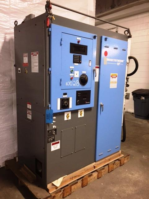 2007 INDUCTOTHERM MODEL 50-500 50 KW 500 HZ POWER SUPPLY S/N 07I-223909-246-11 WITH WATER PUMPS LIKE NEW WE DO NOT THINK IT HAS EVER BEEN USED