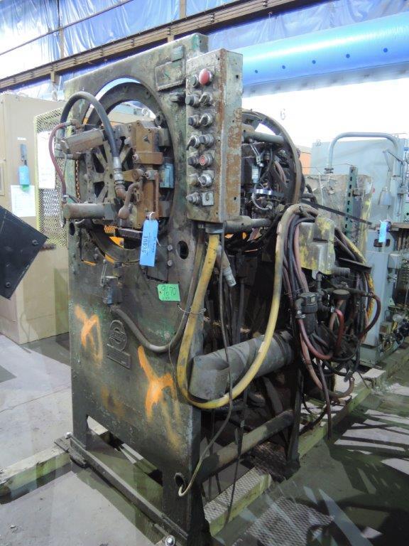 SHALCO MODEL U150 SHELL CORE MACHINE WITH CONTROLS