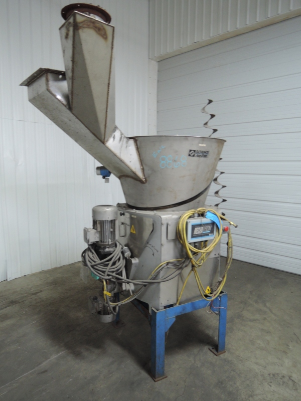 2003 SCHENCK ACCURATE MODEL MODHC-1V-2A SCREW TYPE HIGH RANGE VOLUMETRIC ADDITIVE FEEDER S/N 73058-01A RATED UP TO 600-650 CU FT WITH 5