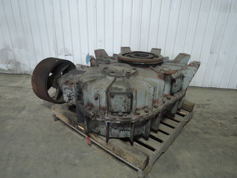 B AND P MODEL 436M-844 100B 200 HP MULLER GEAR BOX S/N B-7700-119 VIDEO OF GEARS AVAILABLE