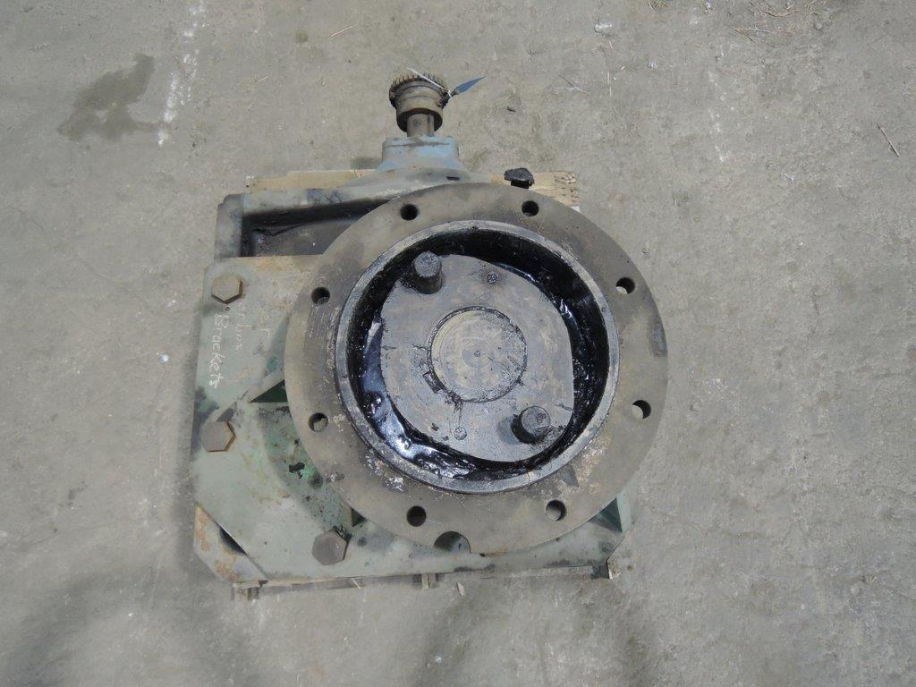 SIMPSON/EURODRIVE MODEL K166 GEARBOX WITH ADAPTER S/N 870216446