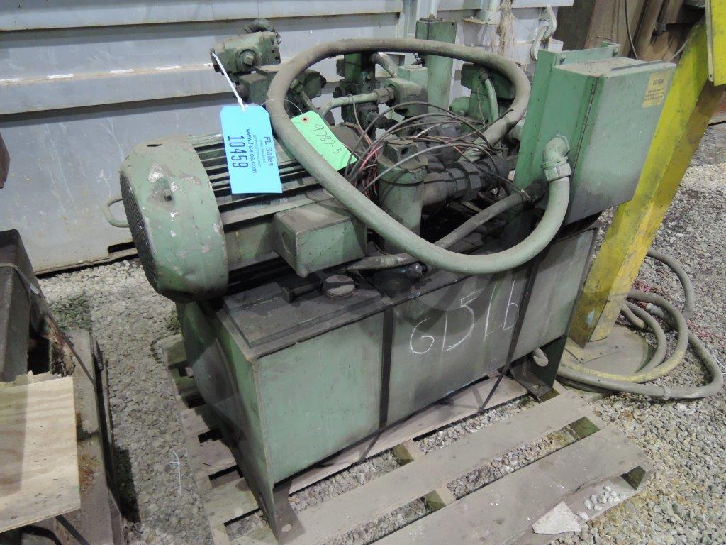 10HP HYDRAULIC UNIT