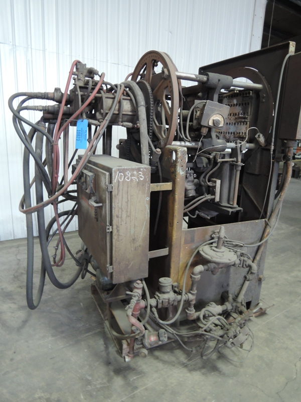 SHALCO MODEL U150 SHELL CORE MACHINE  WITH CONTROLS