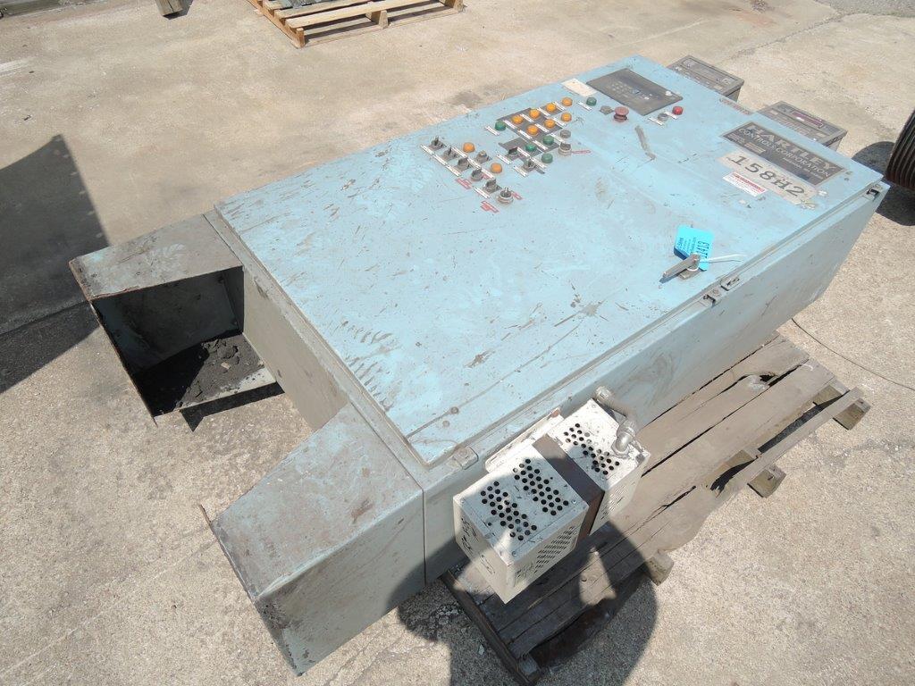 HARTLEY CONTROL MODEL  B-18PC-1392,  S/N 18PC-475, ALLEN BRADLEY PLC5/20 PLC