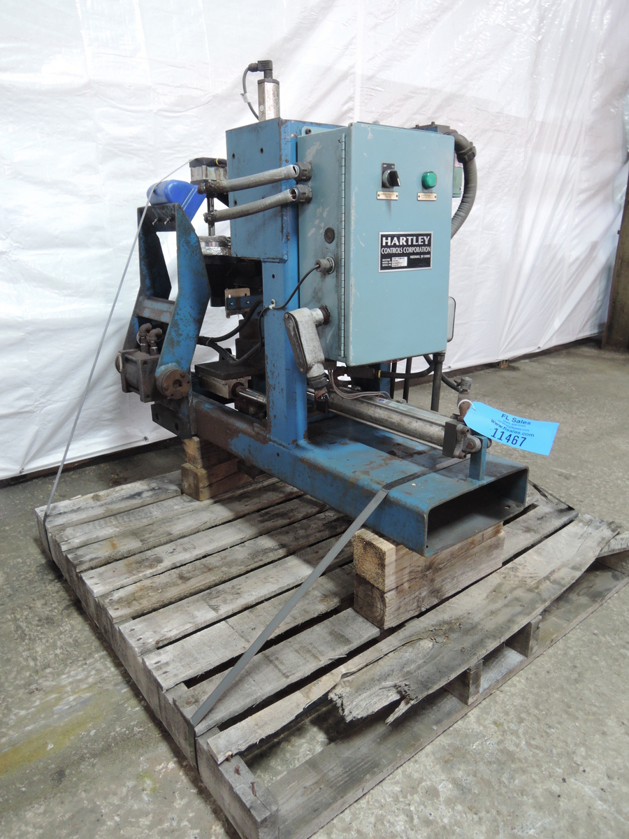 HARTLEY COMPACTABILITY TESTER MODEL B-2500-215-2, S/N: 2500-301