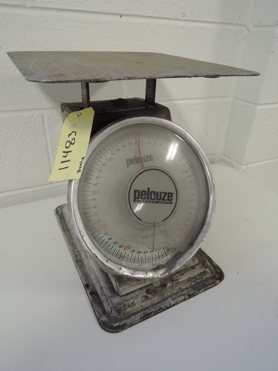 PELOUSE MODEL 10100, 100 POUND LAB SCALE