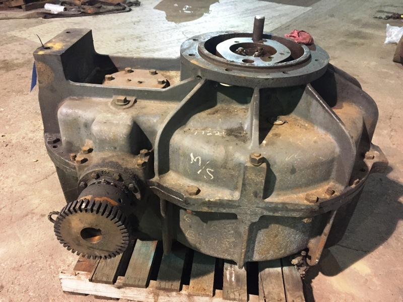 SIMPSON 10SM3F GEAR BOX S/N G723169, RATIO 34.2