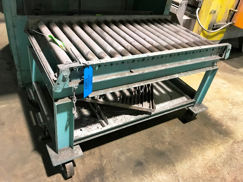 CONVEYOR  FOR BAKEOUT OVEN, 4'6
