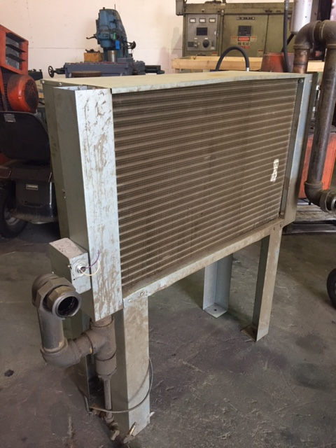 THERMAL TRANSFER MODEL AA-240-1 HEAT EXCHANGER S/N 254962 RATED TO 350 DEGREE 250 PSI