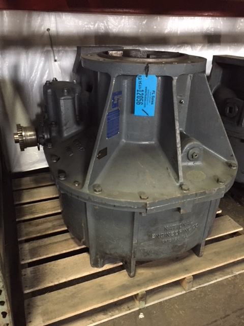 SIMPSON MODEL 9SM 2.5 GEAR BOX, RATIO 35.27, S/N 12-ORO-690, REBUILT BY FALK