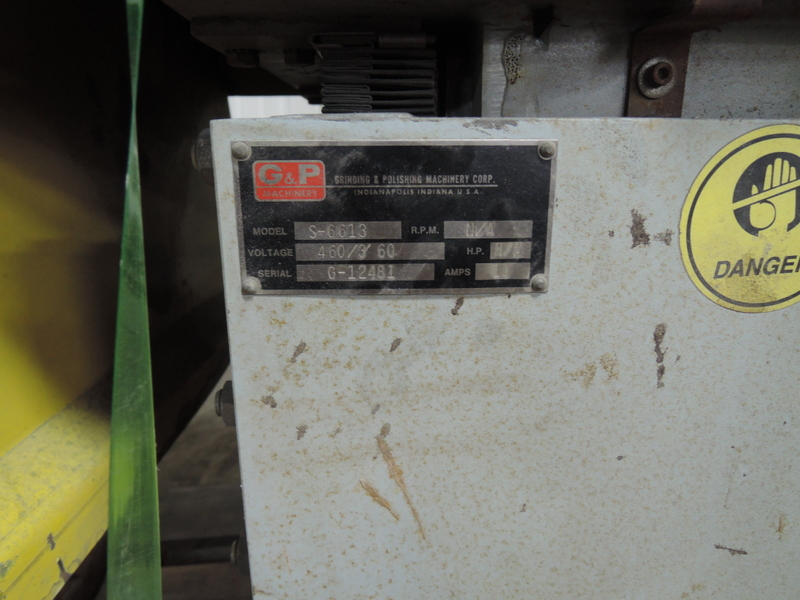 G&P  MODEL MS-6613 HYDRAULIC FEED S/N G-12481, HYDRAULIC UNIT AND CONTROLS FOR TAG#12171 PRICED WITH GRINDER