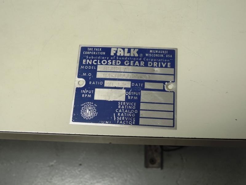 2F GEAR BOX MODEL 8SM2FA  MO# 94-066020-01 RATIO 30.52