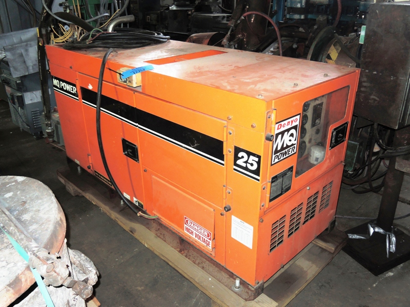 MQ POWER MQ POWER 25 MODEL DCA-25SSIU 25 KW STANDBY GENERATOR S/N 7105189