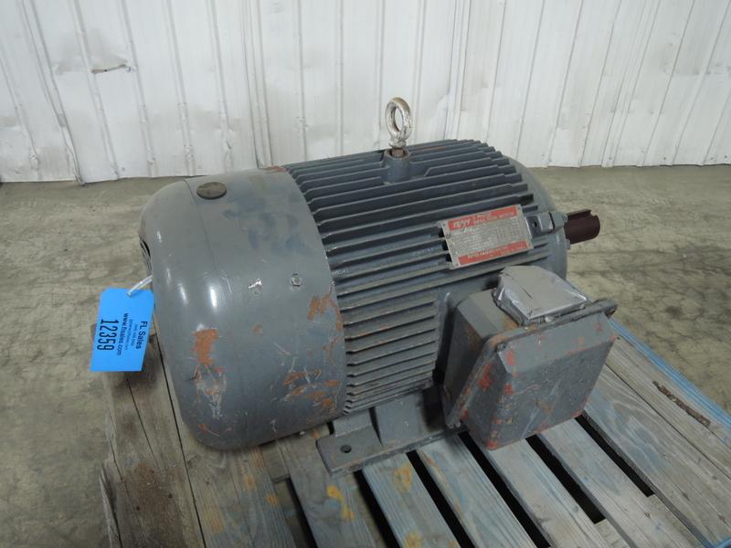 TEAM 100 HP A/C MOTOR 405T FRAME