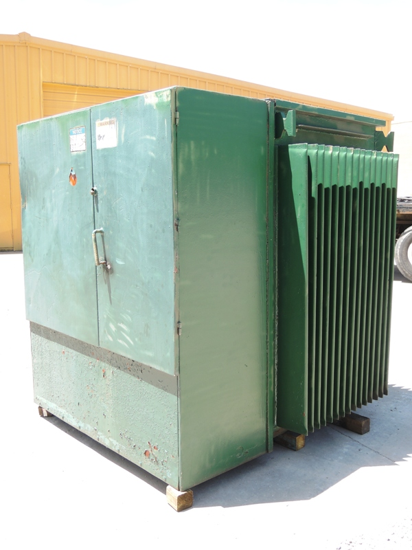 RTE 1500 KVA TRANSFORMER S/N 766005004, RATED AT 4160GY/2400 X 12470GY/7200-480Y/277