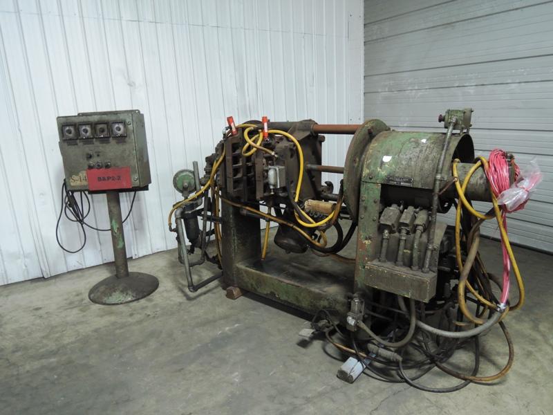 B AND P MODEL SF6CA SHELL CORE MACHINE S/N 584-6802