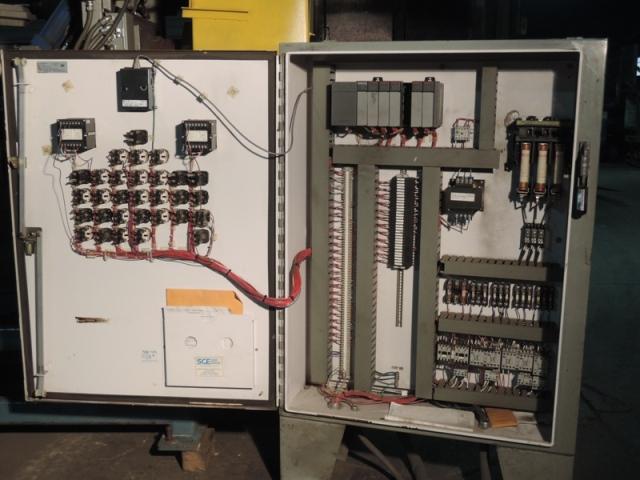 SHALCO MODEL U900 SHELL CORE MACHINE WITH ALLEN BRADLEY SLC 5/02 PLC CONTROLS AND HYDRAULIC SYSTEM