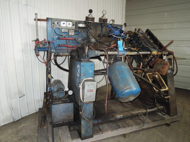 DEPENDABLE MODEL 400 SHELL CORE MACHINE WITH CONTROLS
