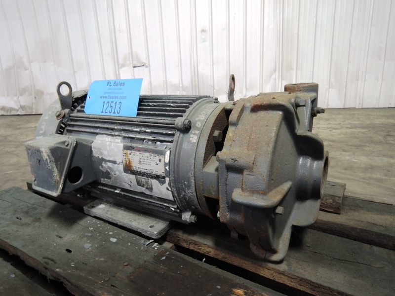 15HP US ELECTRIC MOTOR AND WATER PUMP