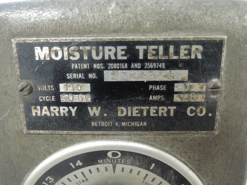 DIETER MODEL 276 MOISTURE TELLER
