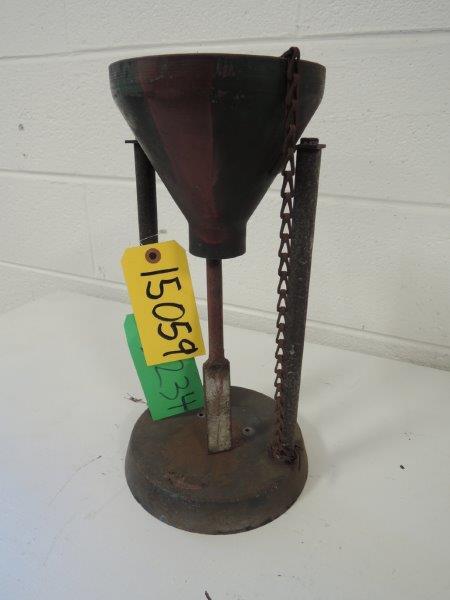 DIETERT MODEL 315-F FILLER TUBE