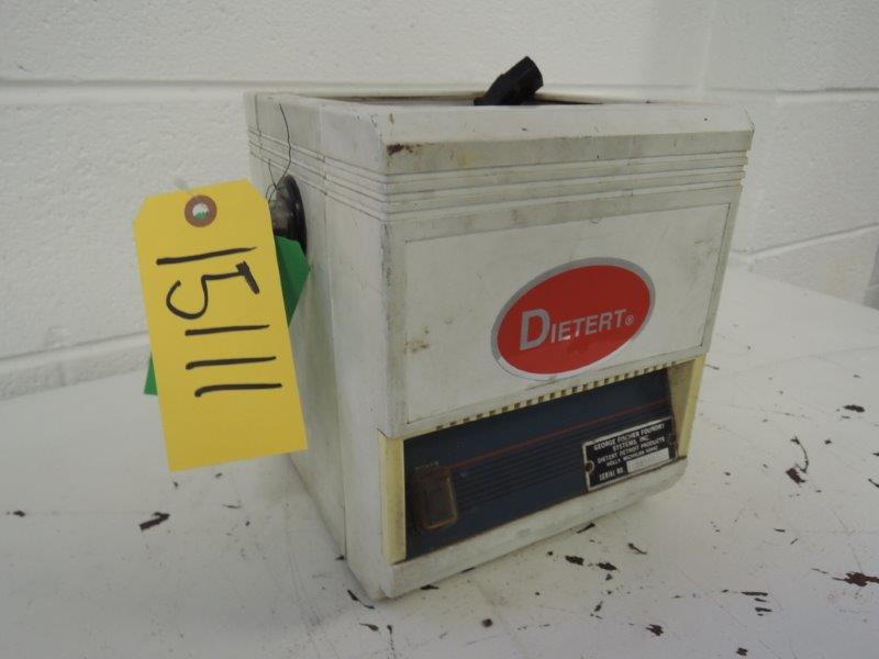 DIETERT MODEL 536 ULTRASONIC CLEANER