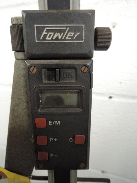"FOWLER HEIGHT GAUGE 21"" TALL WITH DIGITAL READOUT"