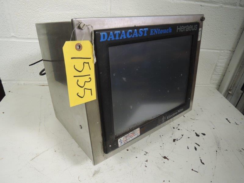 ELECTRO-NITE HERAEUS DATACAST ENTOUCH MODEL QL-15 S/N: 181