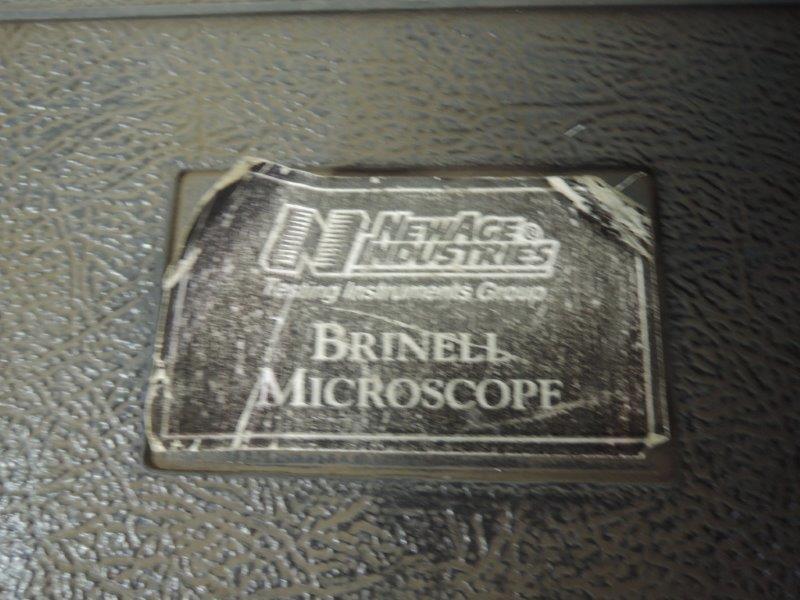 NEW AGE INDUSTRIES MODEL 35-450 BRINELL MICROSOPE