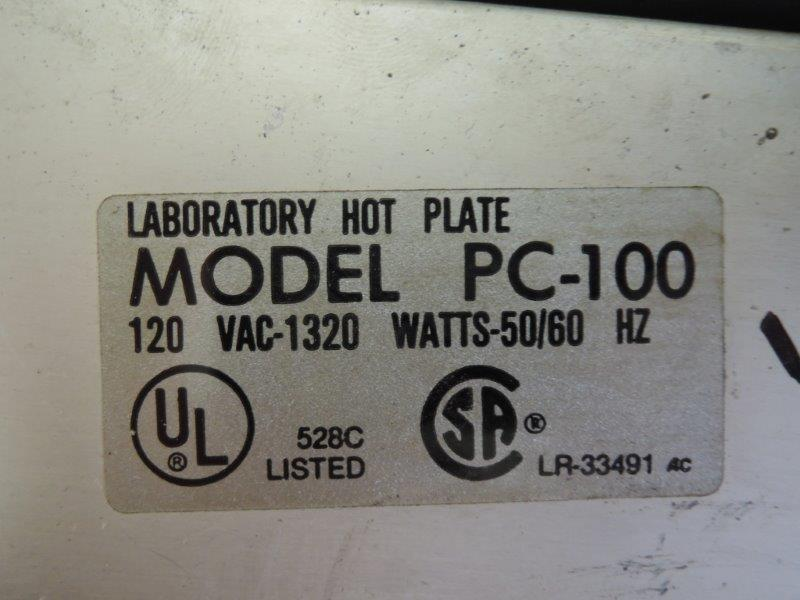 CORNING MODEL PC 100 HOT PLATE
