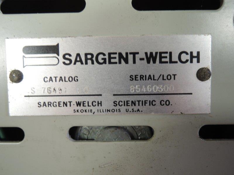 SARGENT WELCH MAGNETIC STIRRER 115V, 60HERTZ, 25 WATT