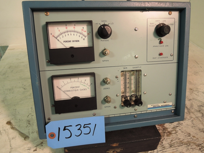 TELEDYNE COMBUSTIBLE GASES TESTER