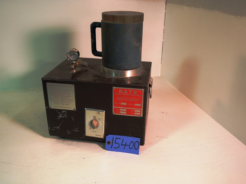 RATS MODEL 401 VACUUM TEST UNIT S/N 1584