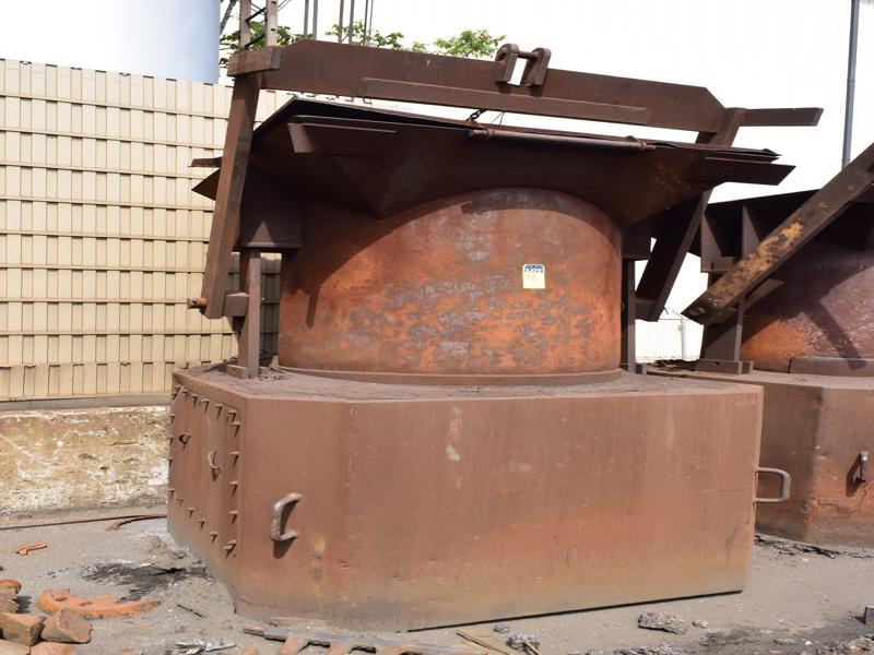 furnace charge bucket 42