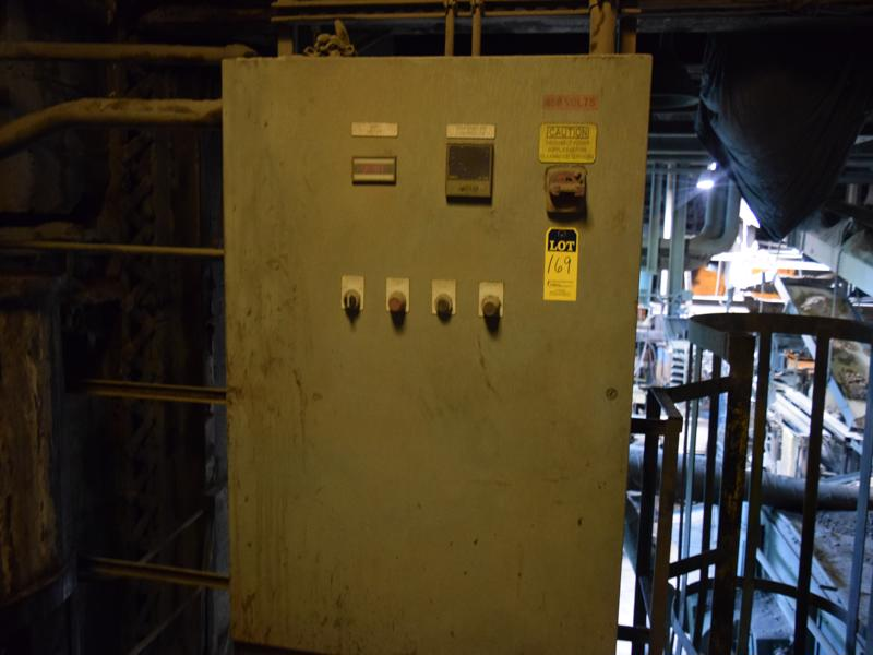 2011 tinker omega model sh-150 150KW 1000# PER MINUTE Electric sand heater s/n sh519-150 with controls