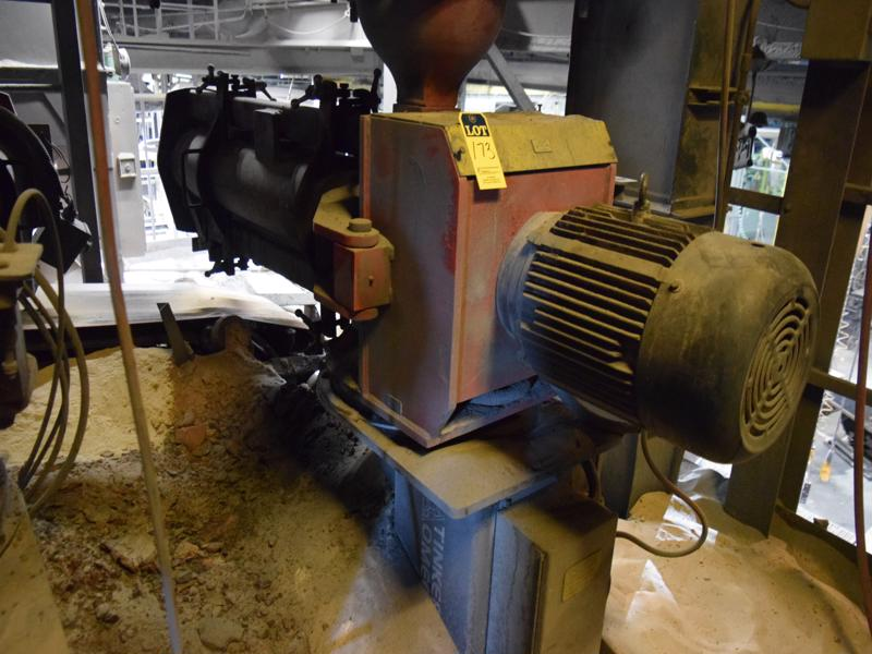 2011 tinker omega model tom 350 continuous mixer s/n tm3-150c-n1 (note: common controls and pumps)