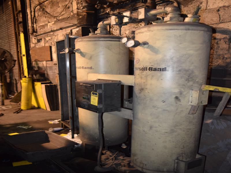 Gaylord model 4000a 4000 cfm so2 gas scrubber with pumps and controls