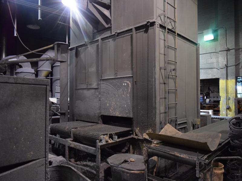 1999 OSI core oven twin belt s/n 10177.002, 40