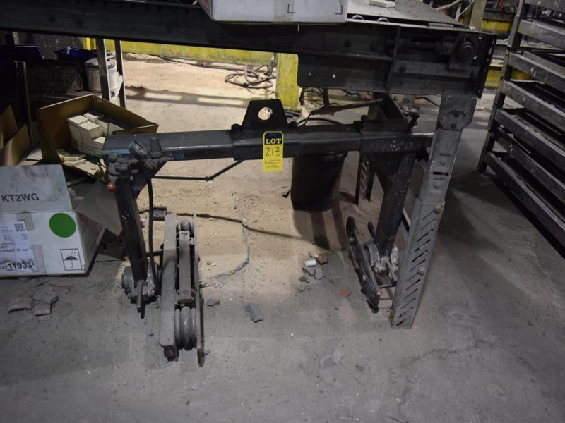 non powered mold handler adjustable