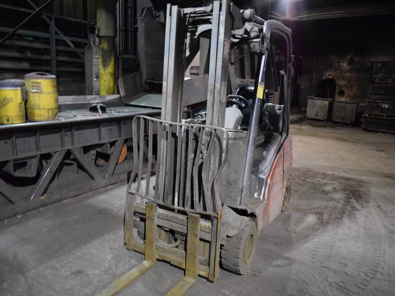 linde model h20t l/p powered fork lift truck s/n h2x391d02586, 3755#, 182