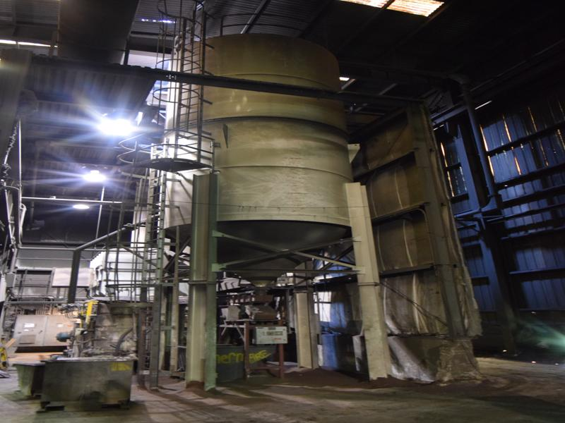 imperial model 50-100-11-6x38-10 141 ton sand silo