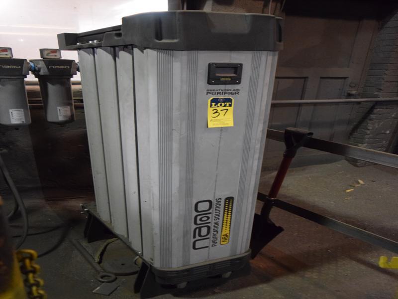 2018 Nano model nba3120es breathing air purifier s/n 18-h1135-01