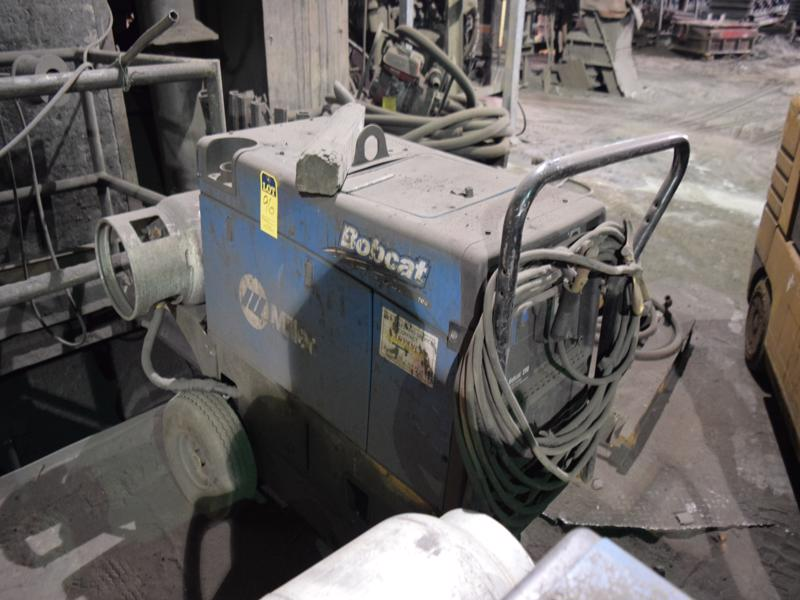 miller bobcat 250 portable l/p welder