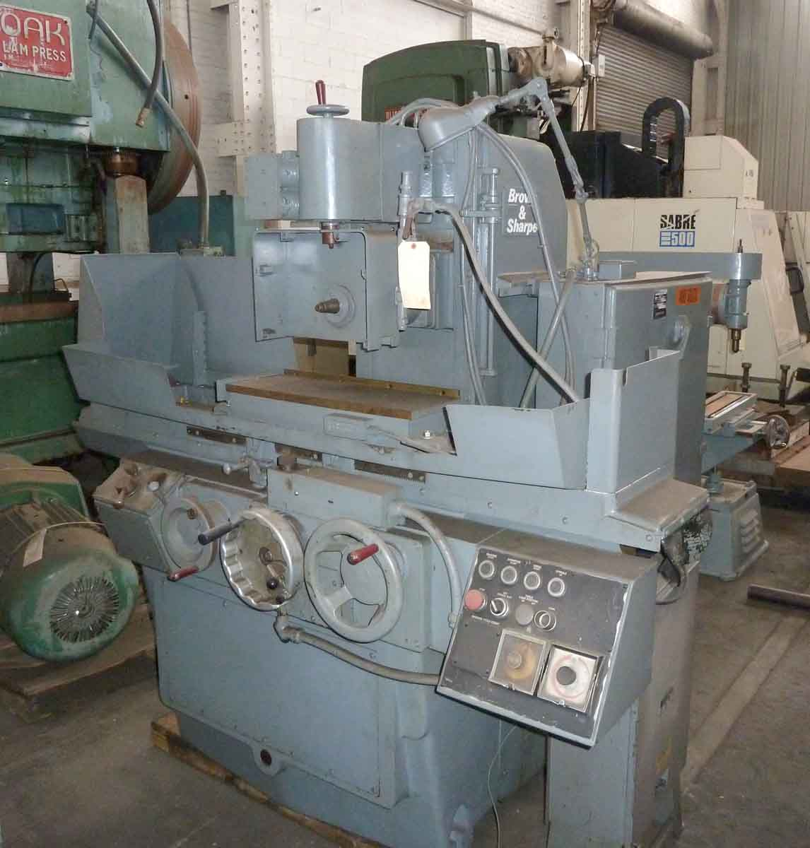 BROWN & SHARPE 824 MICROMASTER HYDRAULIC SURFACE GRINDER