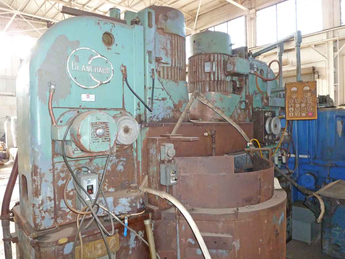 Blanchard #18A2, Two Spindle Vertical Rotary Surface Grinder