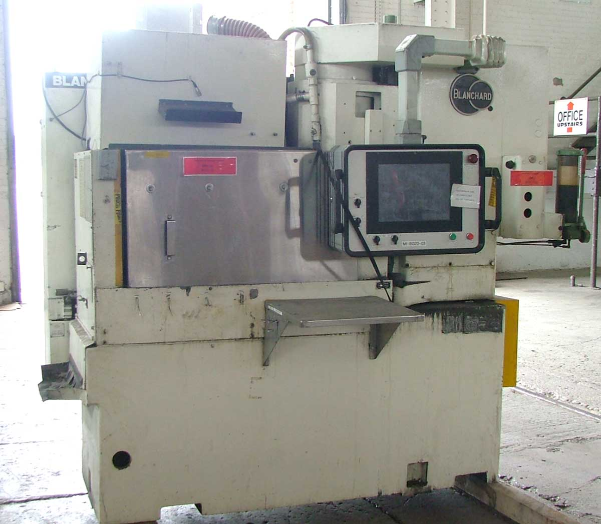 Blanchard #11AD-20, 20″ Vertical Spindle Rotary Surface Grinder, Allen Bradley Compactlogix PLC touch screen control, Re-Manufactured W/ Warranty