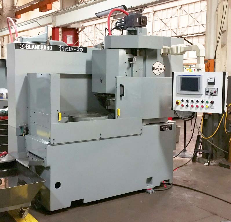 "Blanchard #11AD-20, 20"" Vertical Spindle Rotary Surface Grinder, Allen Bradley Compactlogix PLC touch screen control, Re-Manufactured W/ Warranty"