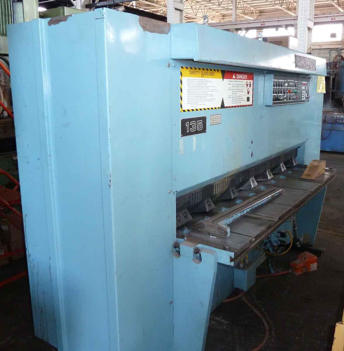 Cincinnati Model 135, 10GA x 6′ Hydraulic Shear W/ Micro Computer Gauge Control